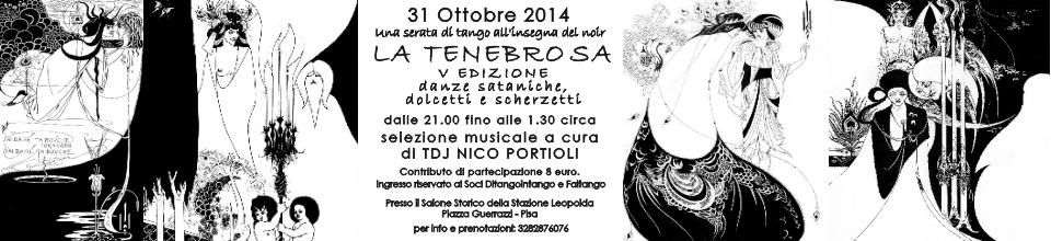 La Tenebrosa 2014 V Edizione, una serata di tango all'insegna del noir