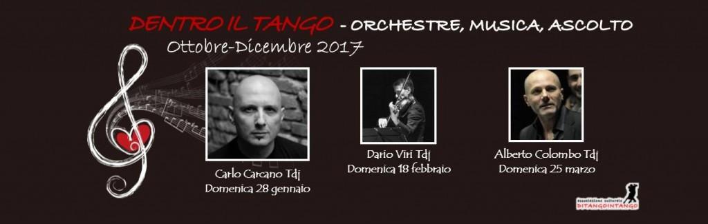 Dentro il tango: orchestre, musica, ascolto gennaio-marzo 2018