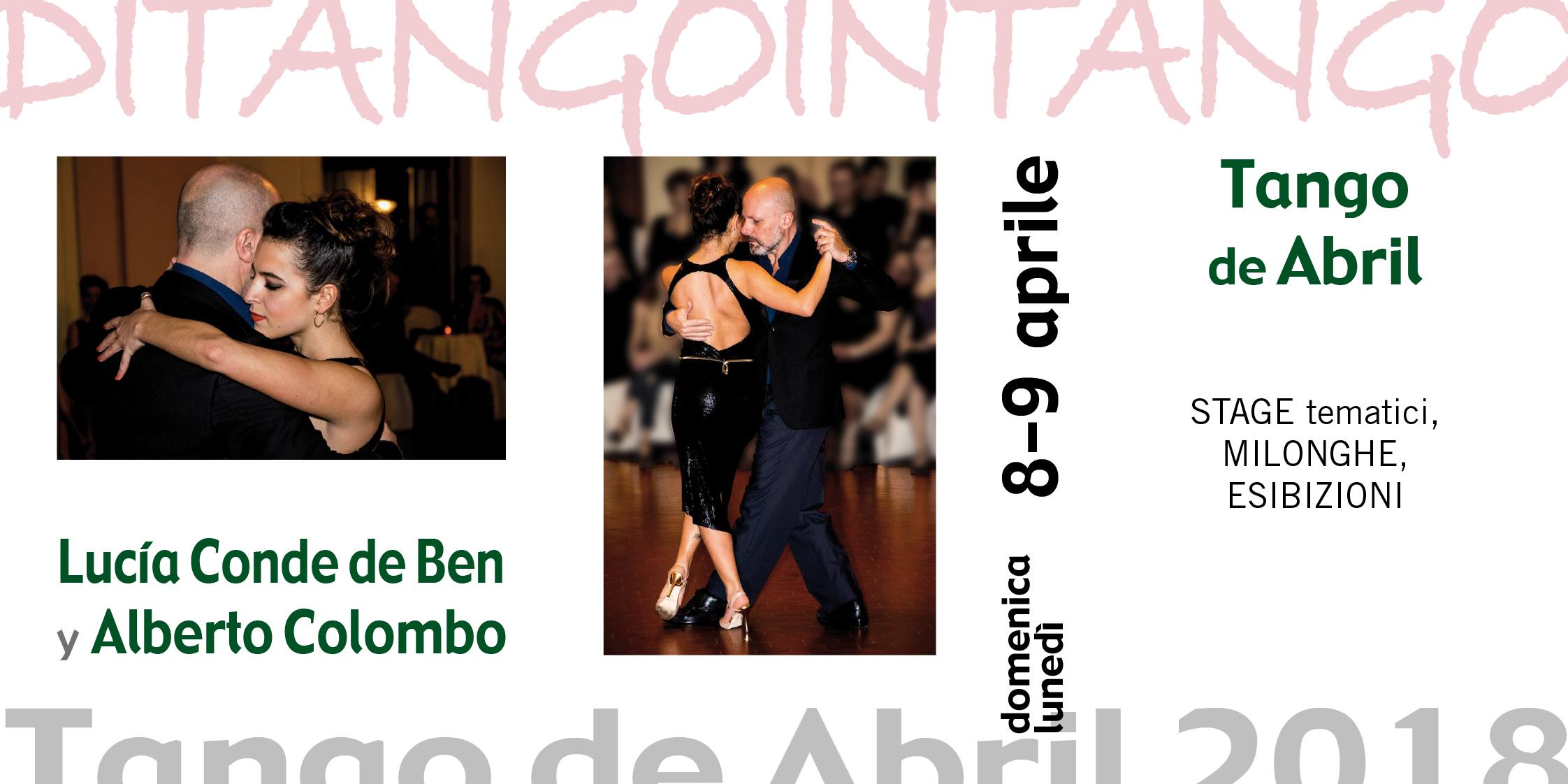 Tango de Abril Lucia Conde De Ben y Alberto Colombo